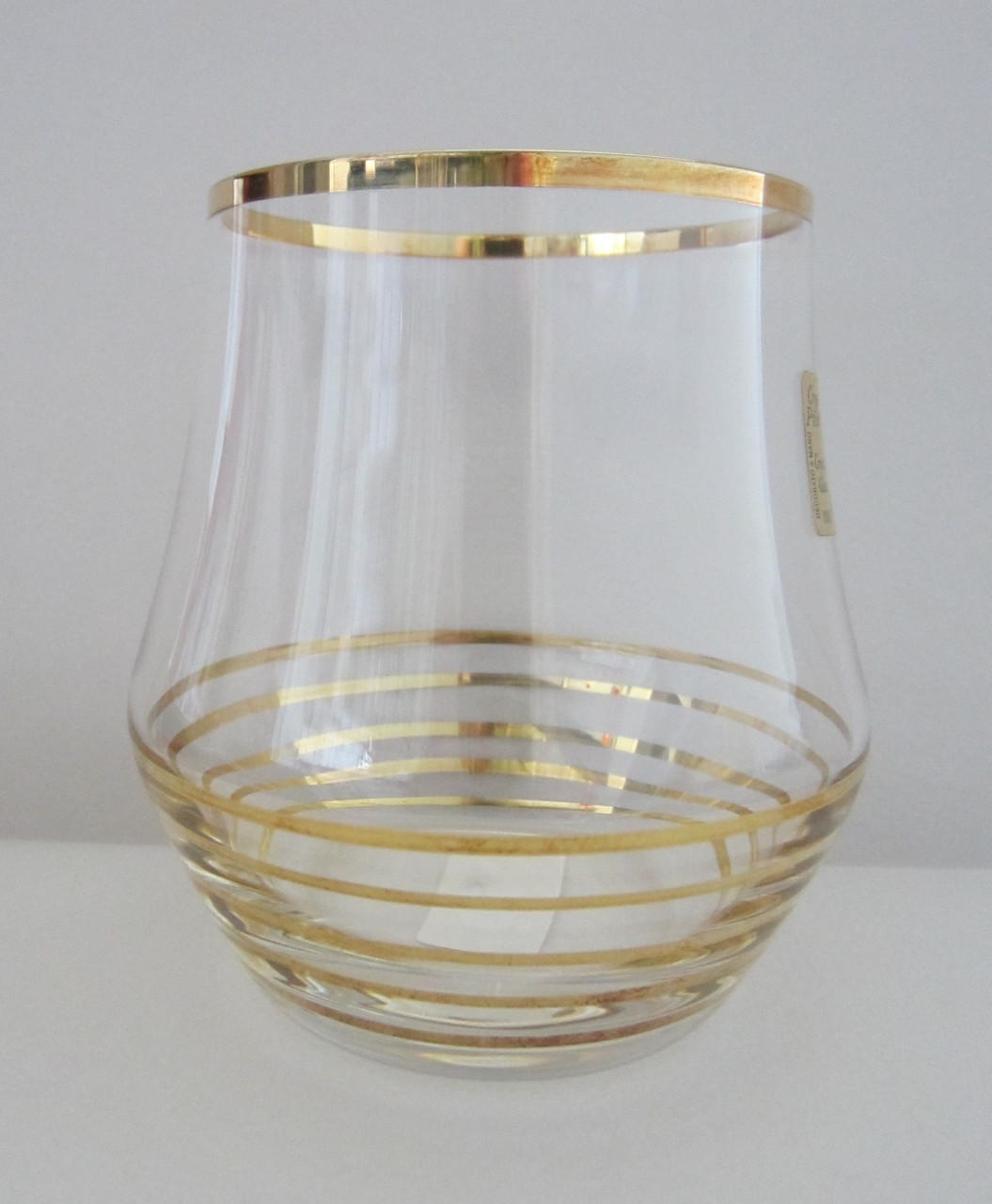 Набор стаканов для виски Alter с золотом