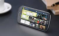 """Смартфон THL W8s экран 5"""" новый 4-х ядерный на Android 4.2 MT6589 TURBO черный, black +стилус и чехол!"""