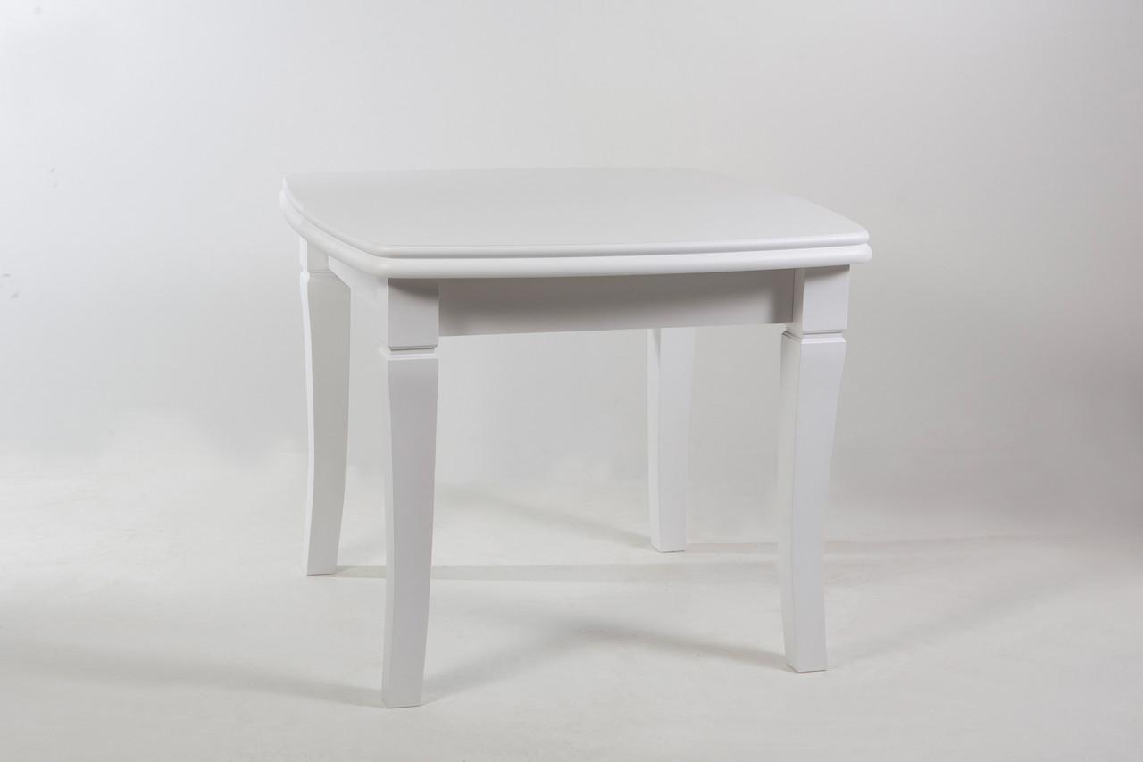 """Стол """"Монте Карло"""" увеличивающийся до 2м. в длину, квадратный(2 вставки) белый,Ral 1015, без посредников - Интернет-магазин  ТМ  Биформер в Черкассах"""