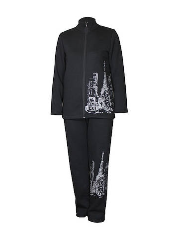 Теплый спортивный костюм стрит стайл Париж