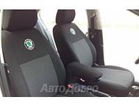 Авточехлы для салона Skoda Rapid (цельный) c 2012-