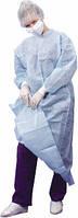 Халат хирургический стерильный с непромокаемым передом и рукавами