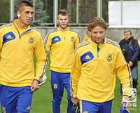 Джемпер флисовый Adidas FFU сборной Украины по футболу