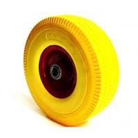 Колесо для тачки 4.00-4 силикон под ось 20 мм