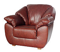 """Кожаная мягкая мебель, кресло """"Norton"""" , фото 1"""