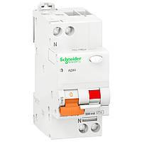 Дифференциальный автомат Schneider Electric АД63 2P 16А 30мА (х-ка С) 11473