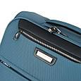 Малый чемодан 4-колесный из полиэстера 37 л. March Flybird 2453/54 голубой, фото 4