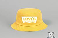 Яркая желтая панамка левайс,Levi's