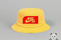 Желтая панамка мужская Nike SB