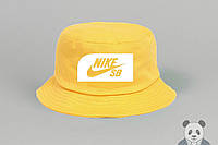 Стильная желтая панамка найк