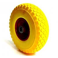 Колесо для тачки 3.00-4 силикон под ось 20 мм