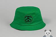 Зеленая модная панамка