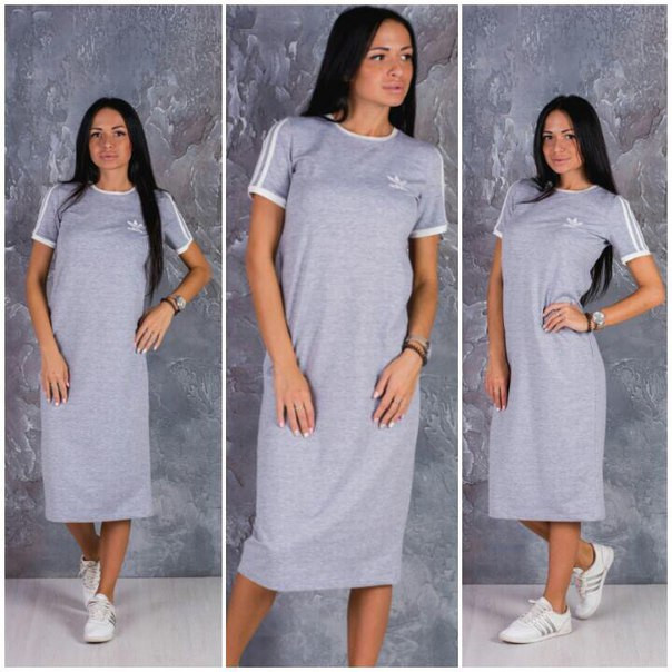 Купить летнее платье ниже колена