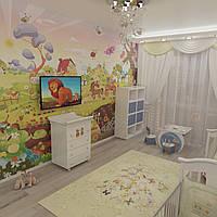Дизайн интерьера детской комнаты, фото 1