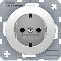 Розетка с з/з, 16А/250В, R.1 Berker