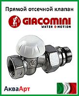"GIACOMINI Прямой отсечной клапан 1"" (R15X035)"