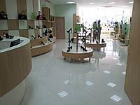 Мебель для обувных магазинов, торговая мебель изготовить, производство торгового оборудовния