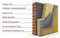 Технофас 100 мм 145 кг/м.куб базальтовый утеплитель Технониколь