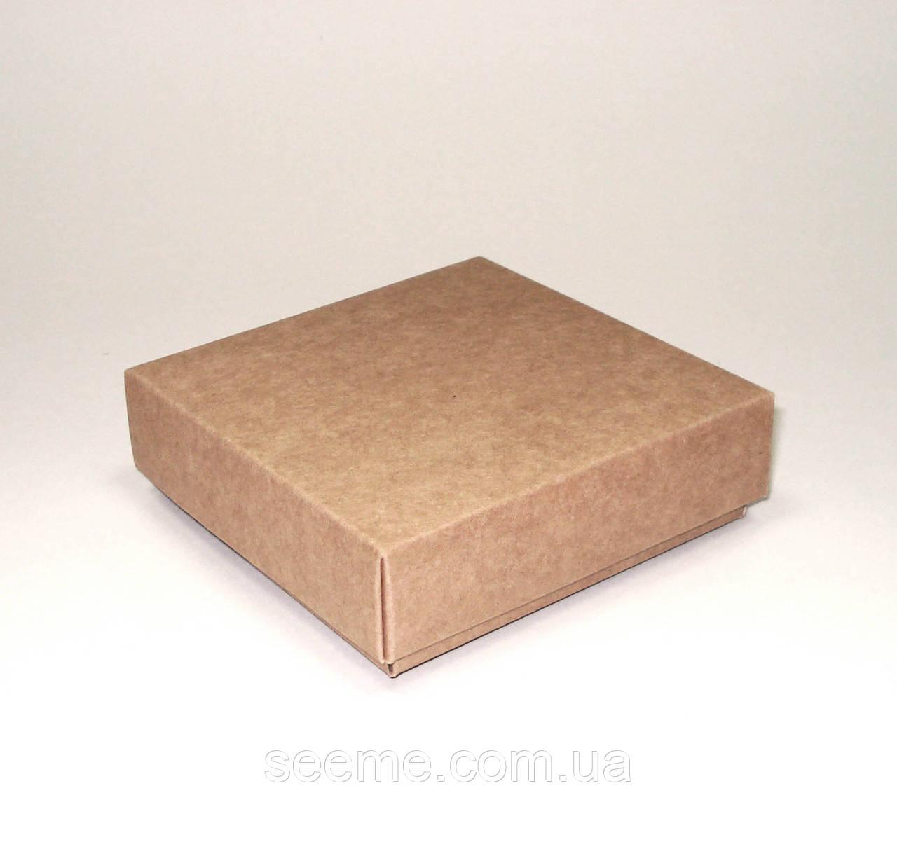 Коробка подарочная 100x100x30 мм.