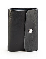 Черная качественная карманная визитница унисекс APPLE art. Б/Н визитница, фото 1
