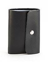 Черная качественная карманная визитница унисекс APPLE art. Б/Н визитница , фото 1