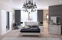 Спальня Богема (глянец белый)  Миромарк