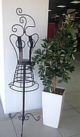 Манекен кованый, Н170 см, Кованая вешалка, Кованый декор