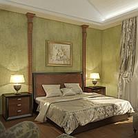 Визуализация интерьера спальни, фото 1