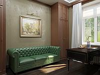 Визуализация интерьера кабинета