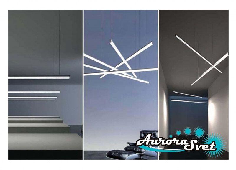 Линейные светодиодные светильники 2m-40w. LED светильник. Светодиодный светильник.