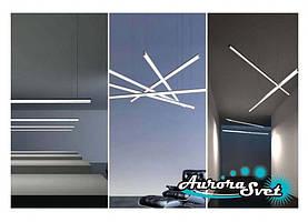Лінійні світлодіодні світильники 2m-40w. LED світильник. Світлодіодний світильник.