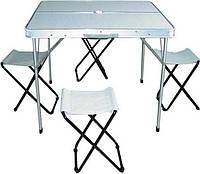 Набор для пикника стол и стулья TO-8833-B на 4 человек