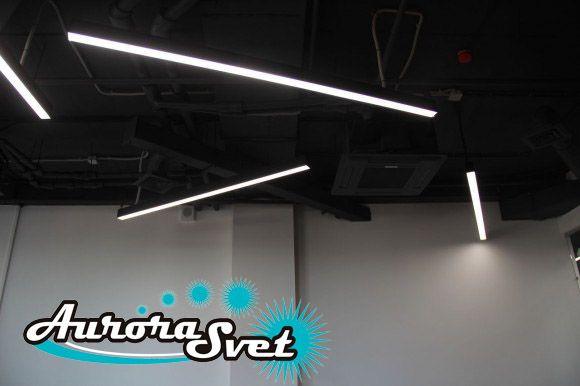 линейные светодиодные светильники +для кухни