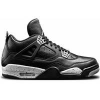 Кроссовки Nike Air Jordan IV Retro Black Leather