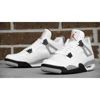 Кроссовки Nike Air Jordan IV Retro White/Black