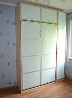 Шкаф-кровать с матовыми фасадами, фото 1