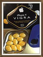 100 % ОРИГИНАЛ. ПРЕПАРАТ ДЛЯ ПОТЕНЦИИ IPHONE 4 VIGRA,10 ТАБ