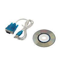 10x Переходник адаптер кабель USB RS232 DB9 COM