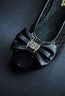Модные черные балетки