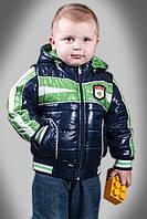 Весенняя куртка - жилетка на мальчика Happy