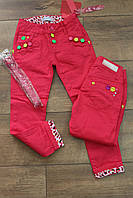 Катоновые брюки для девочек -16 лет