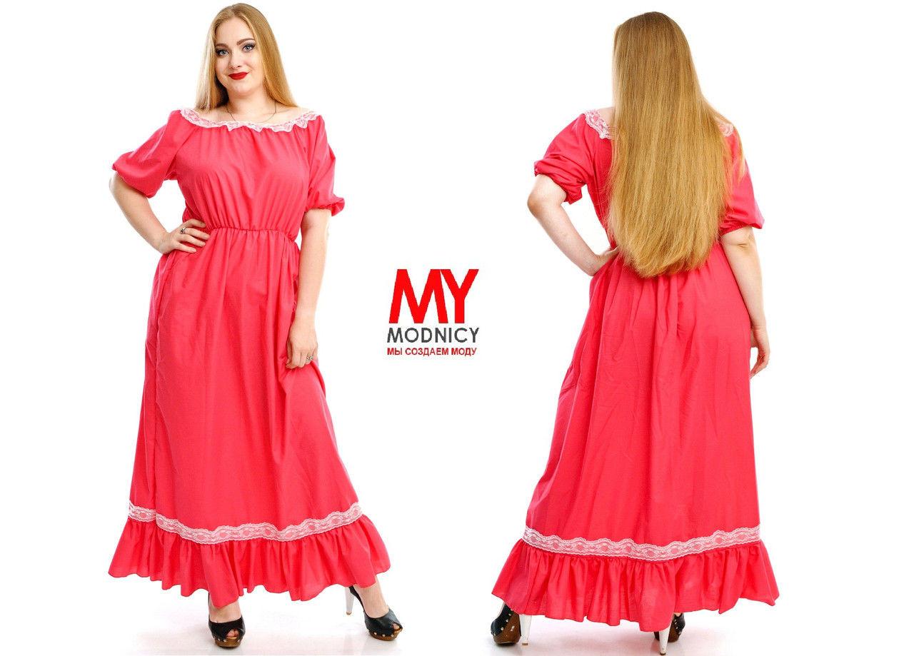 8b4eb18541a Платье в пол из турецкого штапеля - Интернет - магазин модной одежды и  аксессуаров