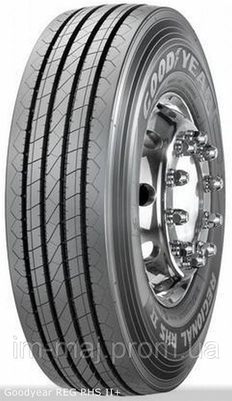 Грузовые шины на рулевую ось 235/75 R17,5 Goodyear REG,RHS II