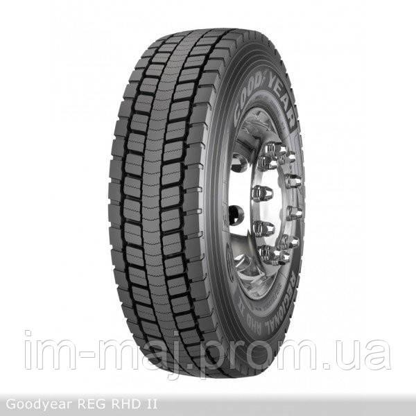 Грузовые шины на ведущую ось 265/70 R17,5 Goodyear REG,RHD II