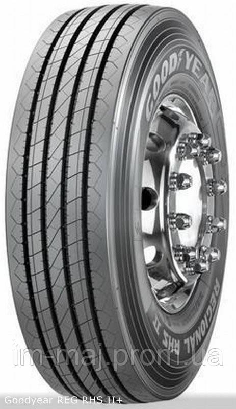 Грузовые шины на рулевую ось 245/70 R19,5 Goodyear REG,RHS II