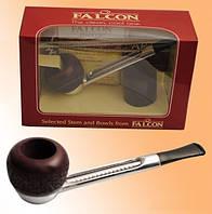 Трубка Falcon 6243250 изогнутая 2 чашки, 3 ерша, 25 фильт. колец, в подар. короб