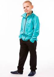 Детский спортивный костюм для мальчиков летний трикотажный 80-03