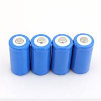 4шт Аккумулятор Li-Ion 3.7V 16340 5800 mAh