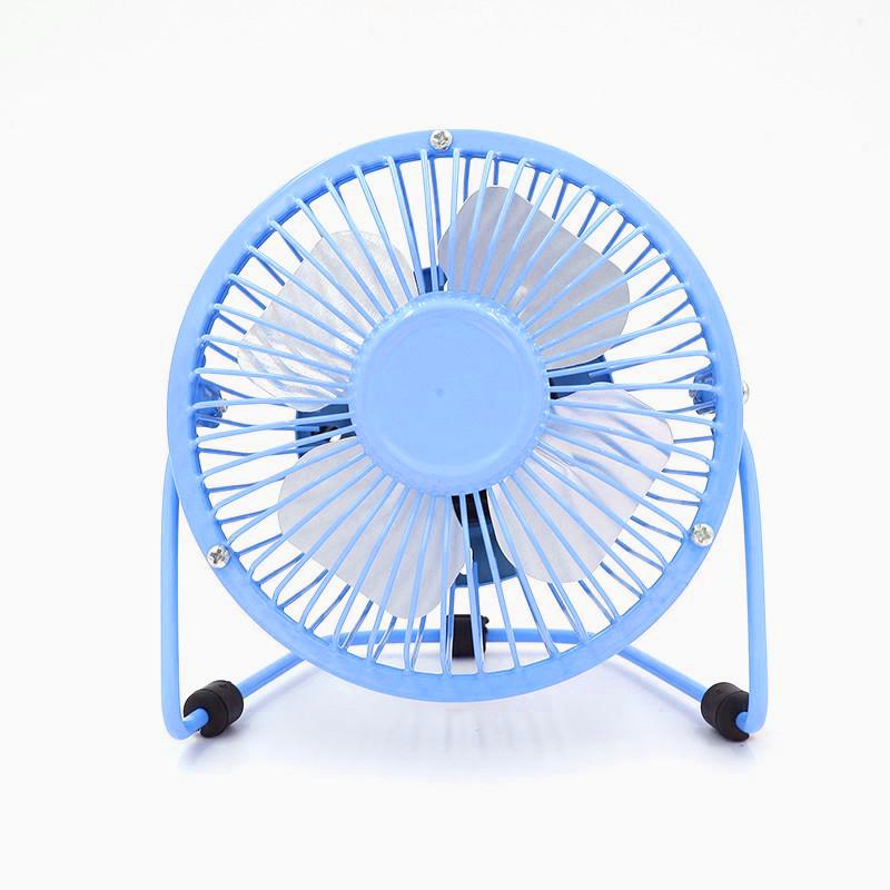 USB настольный вентилятор Blue