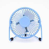 USB настольный вентилятор Blue, фото 1